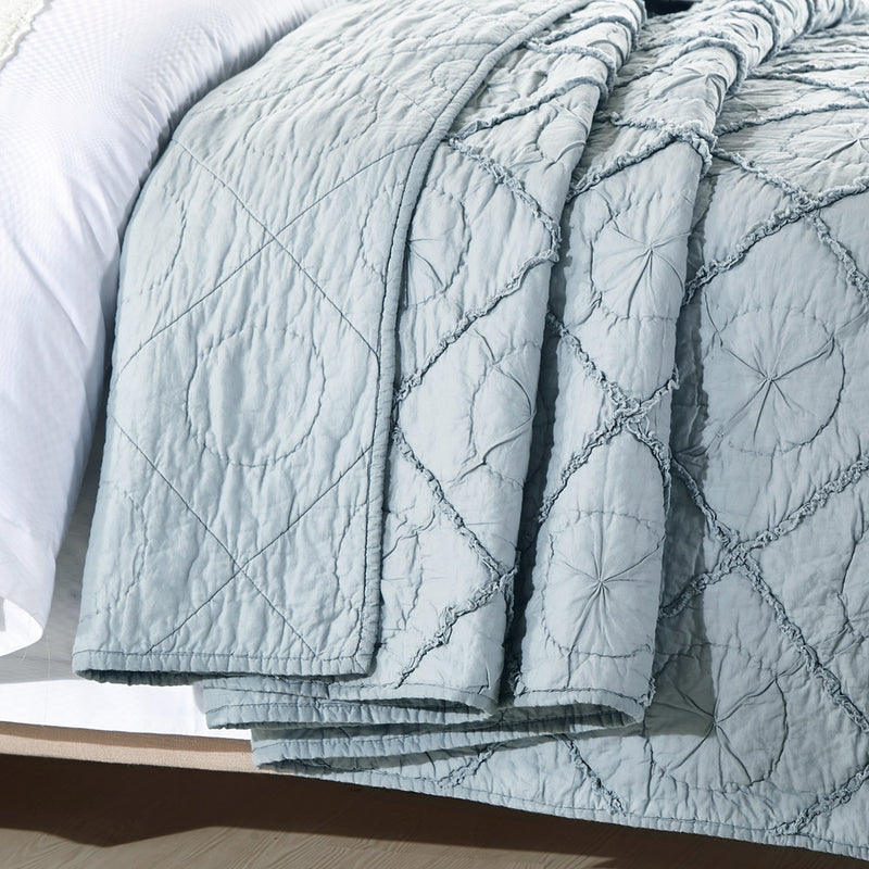 Country Idyl Luxury Fog Quilt - Calla Angel  - 5