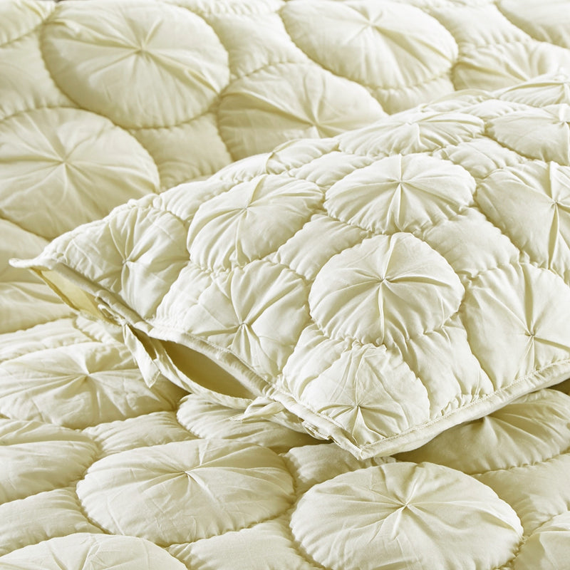 Dream Waltz Luxury Celadon Green Pillow Sham - Calla Angel  - 6
