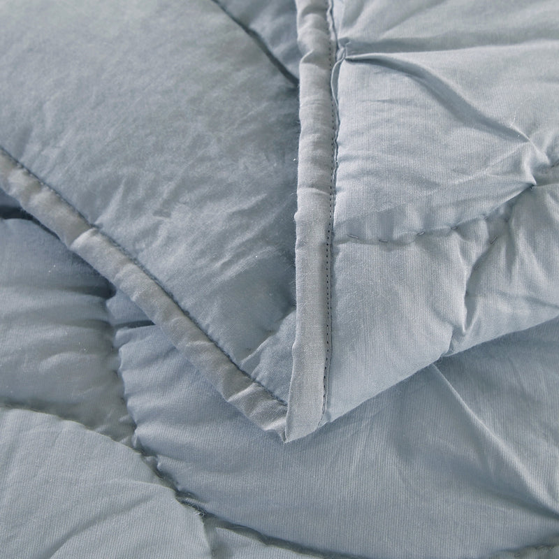 Dream Waltz Luxury Fog Quilt - Calla Angel  - 6