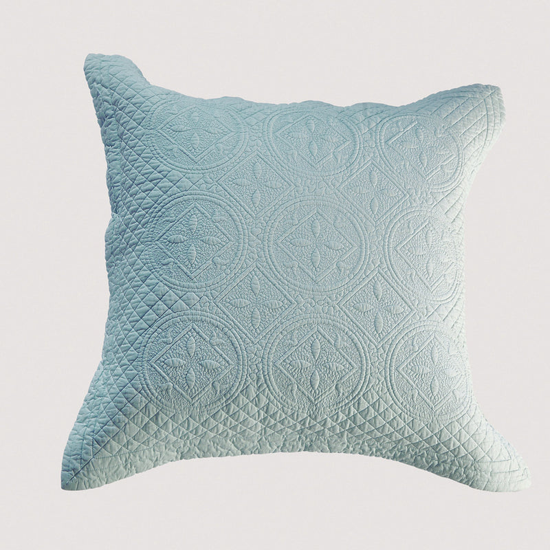 Saint Fountain Luxury Light Aqua Pillow Sham - Calla Angel  - 6