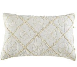Country Idyl Luxury Ivory Pillow Sham - Calla Angel  - 2