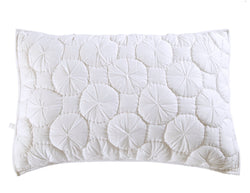 Dream Waltz Luxury White Pillow Sham - Calla Angel  - 2