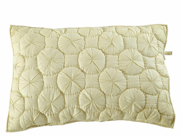 Dream Waltz Luxury Celadon Green Pillow Sham - Calla Angel  - 2