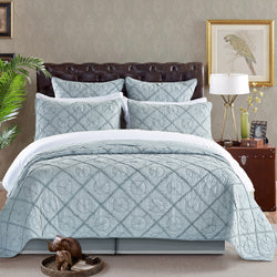 Country Idyl Luxury Fog Quilt - Calla Angel  - 1