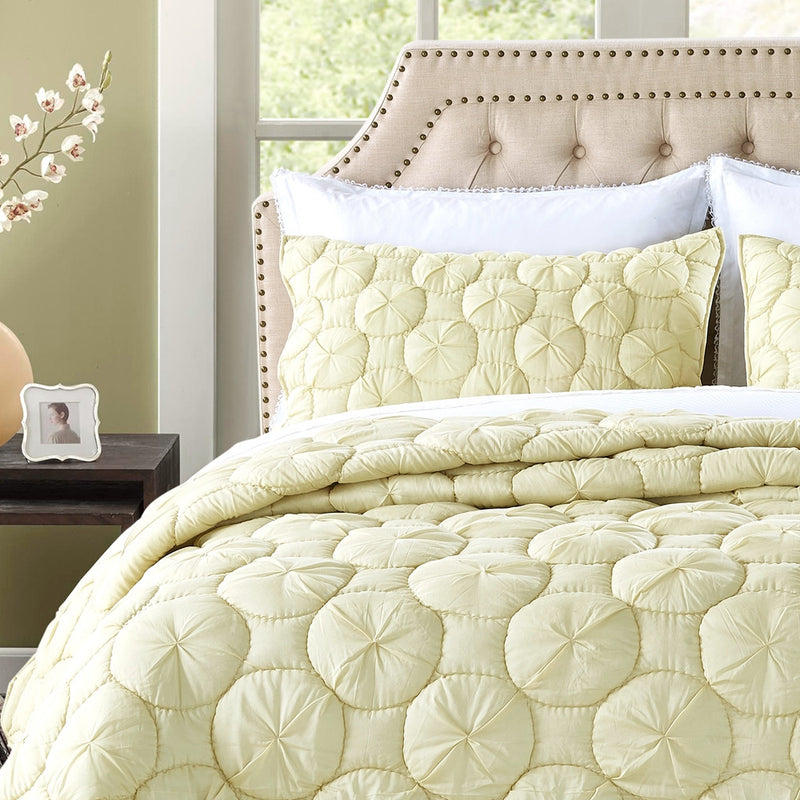 Dream Waltz Luxury Celadon Green Pillow Sham - Calla Angel  - 1
