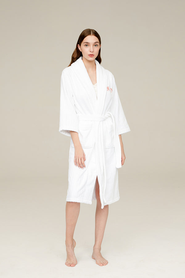 Queen Cotton Bathrobe