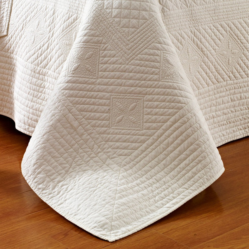 Saint Ivory Luxury Pure Cotton Quilt - Calla Angel  - 3