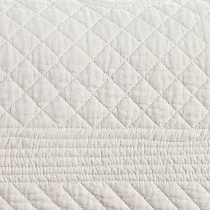 Saint Ivory Luxury Pure Cotton Quilt - Calla Angel  - 5