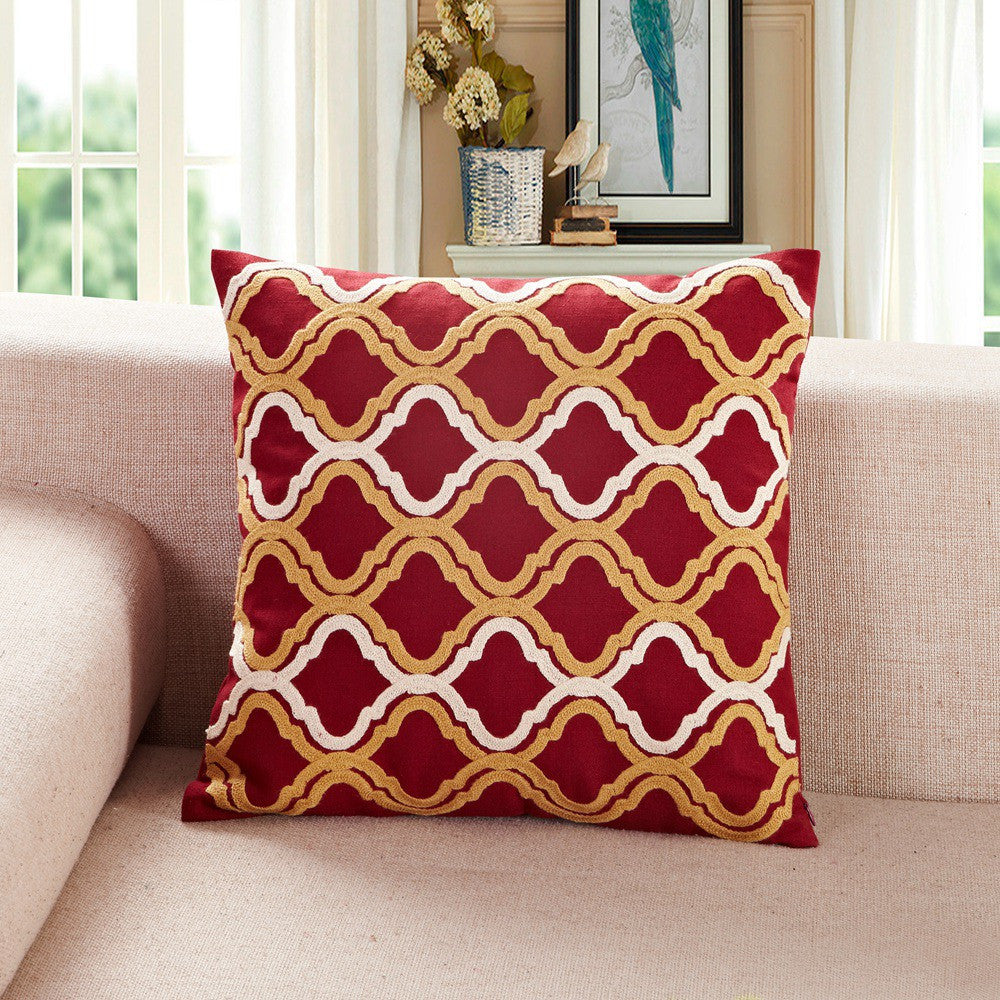pillow bedding two hippie red gold shri bed covers with mandala set