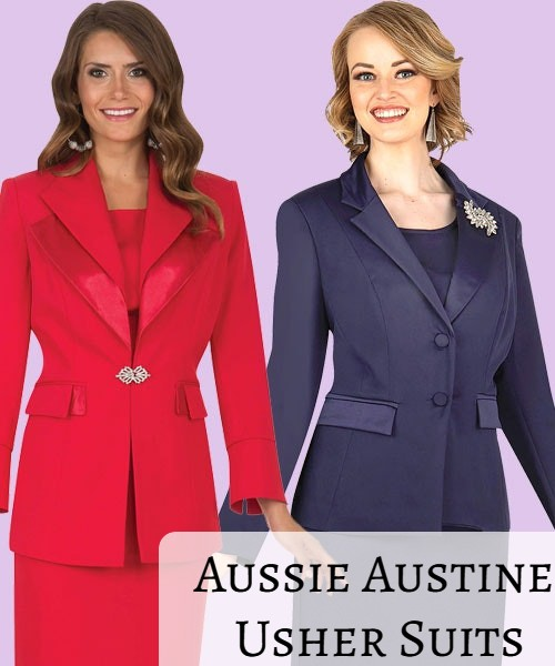 Usher Suits For Women