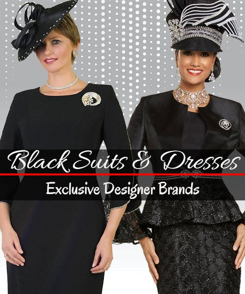 Black Church Suits For Women