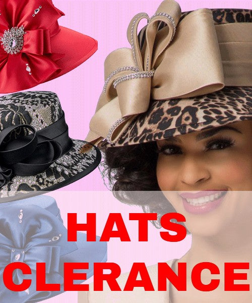 Church Hats Clearance