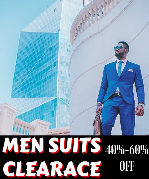 Men Church Suits Clearance