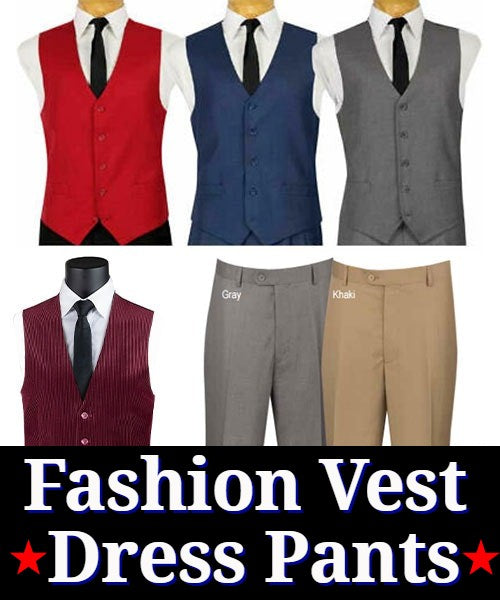 Vinci Vest And Pants
