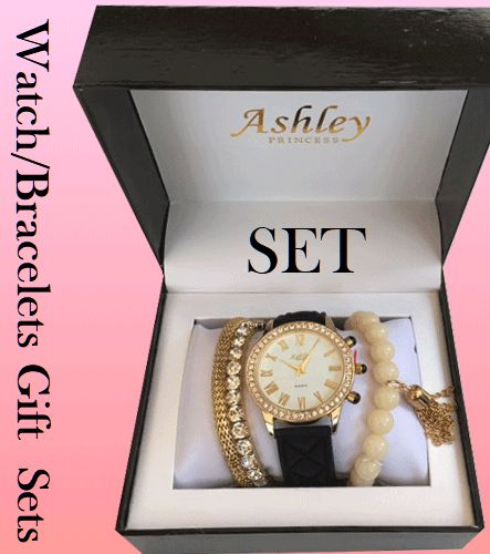 Women Watch And Bracelets Sets