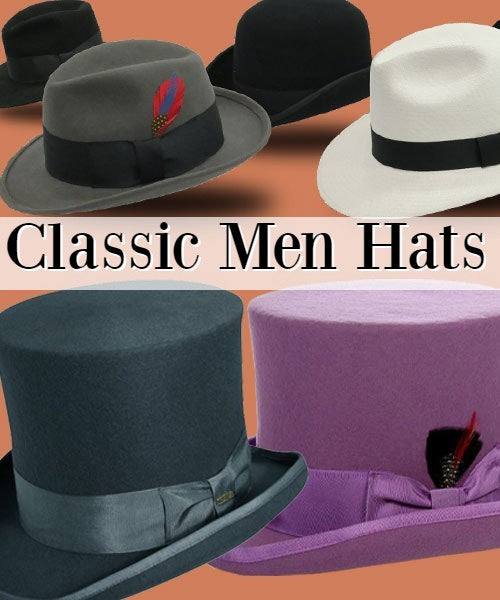 men church hats