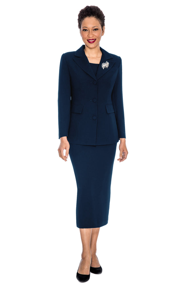 Giovanna Suit 0655-Navy - Church Suits For Less