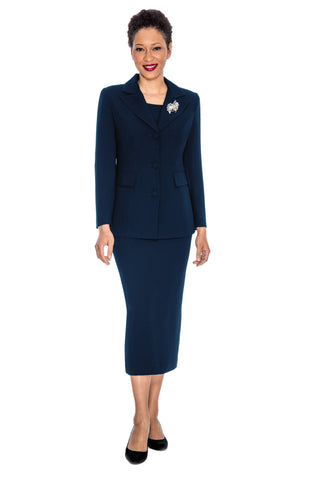 Giovanna Usher Suit 0655-Navy