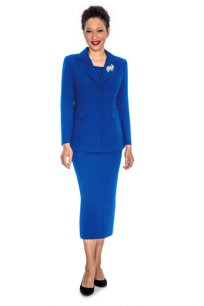 Giovanna Suit 0655-Royal - Church Suits For Less