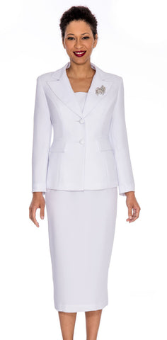 Giovanna Church Suit 0710-White