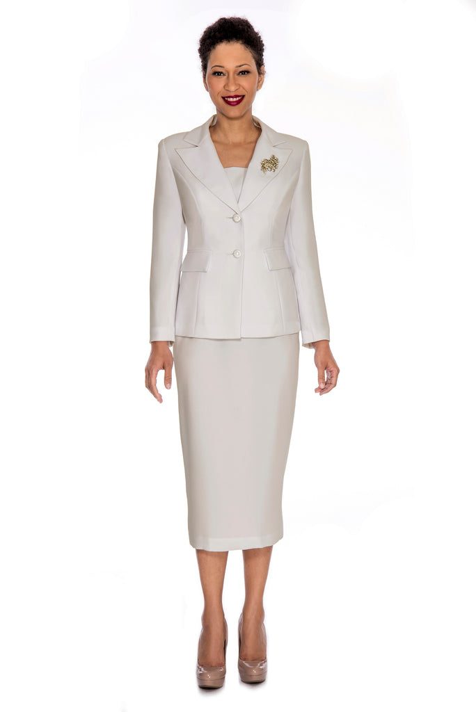 Giovanna Usher Suit 0710-Ivory - Church Suits For Less