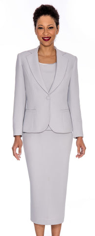 Giovanna Church Suit 0823-Silver