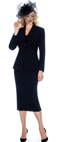Giovanna Usher Suit 0826C-Black