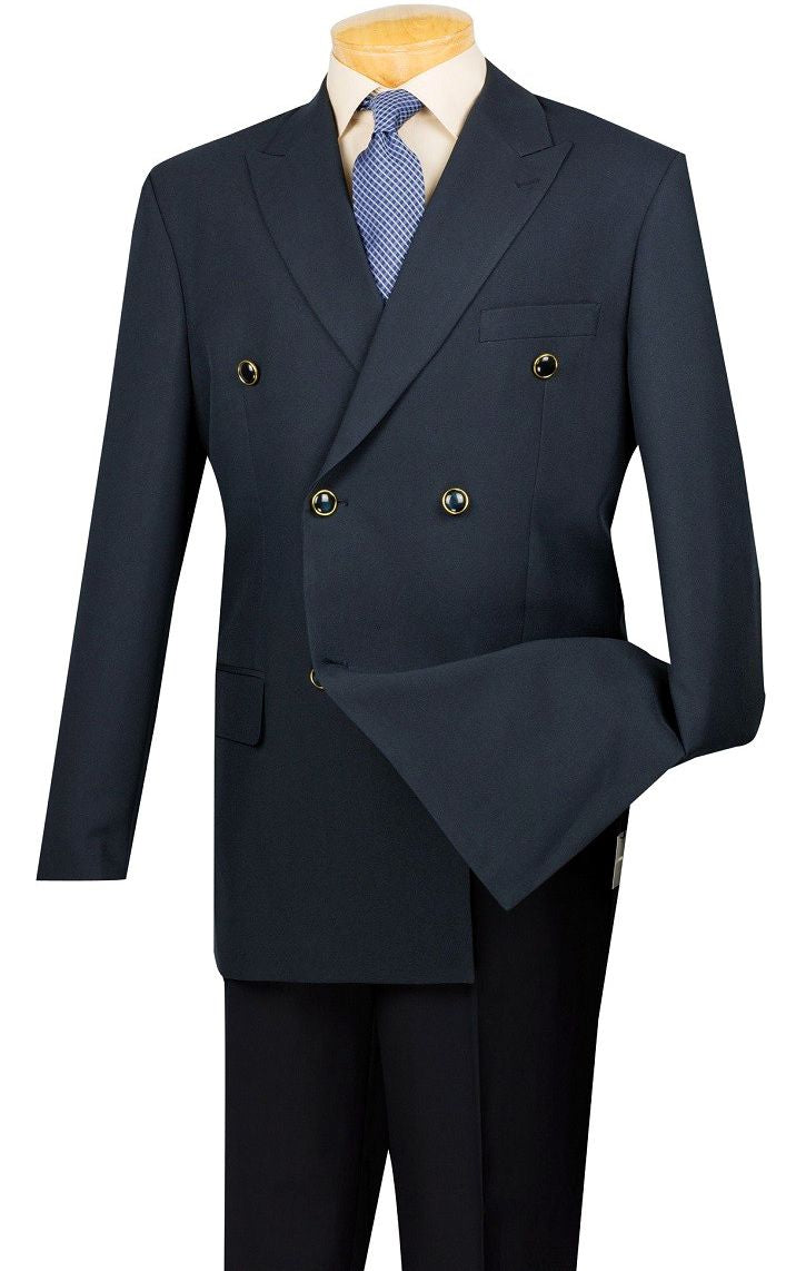 Vince Men Blazer Z-DPP-Navy - Church Suits For Less