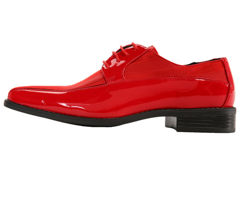 Men Shoes Viotti-179-005-Red - Church Suits For Less