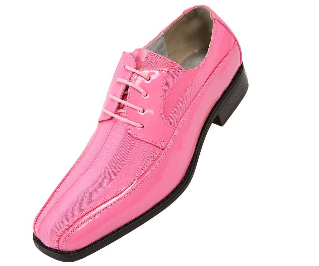 Men Shoes Viotti-179-010-Pink - Church Suits For Less