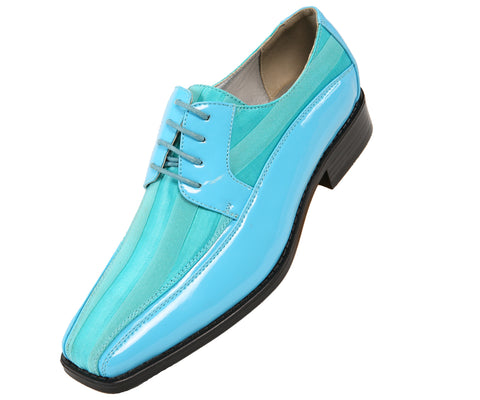 Men Shoes Viotti-179-025-Turquoise - Church Suits For Less