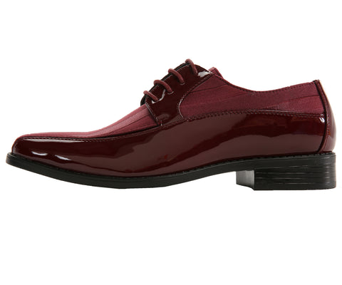 Men Shoes Viotti-179-175-Burgundy - Church Suits For Less