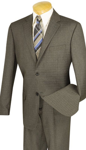 Vinci Men Suit 2WK-1-Brown