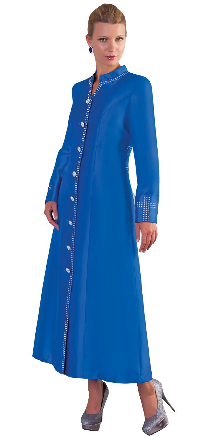 Tally Taylor Robe 4445-Royal Blue - Church Suits For Less