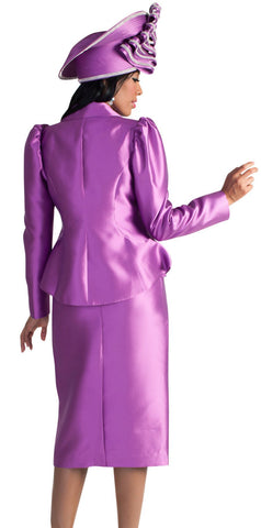 Tally Taylor Suit 4624-Plum - Church Suits For Less