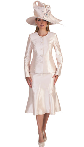 Tally Taylor Suit 4636-Champagne - Church Suits For Less