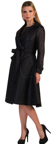 Tally Taylor Dress 4638-Black - Church Suits For Less