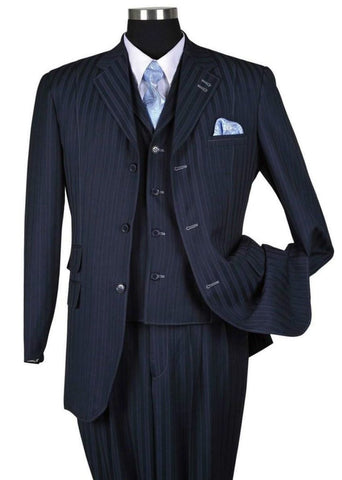 Milano Moda Men Suit 5267V-Navy