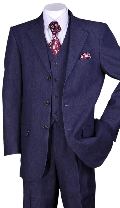 Milano Moda Suit 5287-Navy - Church Suits For Less