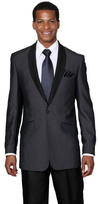 Milano Moda Suit 5601-Navy - Church Suits For Less