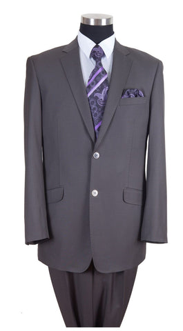 Milano Moda Men Suit 57026-Grey