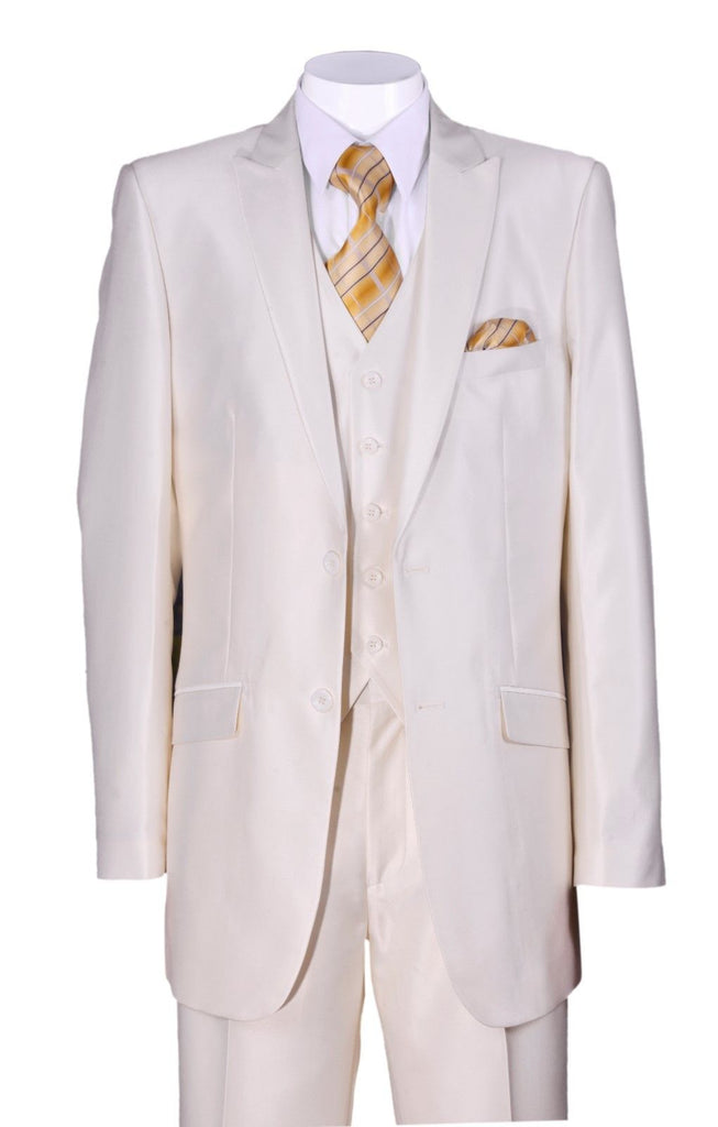 Fortino Landi Men Suit 5702V2C-Cream - Church Suits For Less