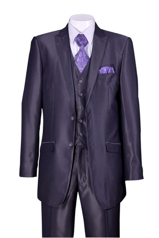 Fortino Landi Men Suit 5702V2-Grey