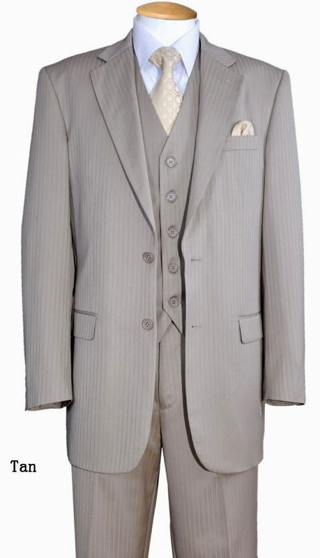 Fortino Landi Men Suit 5702V3-Tan - Church Suits For Less