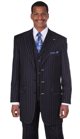 Milano Moda Suit 5903V-Navy - Church Suits For Less