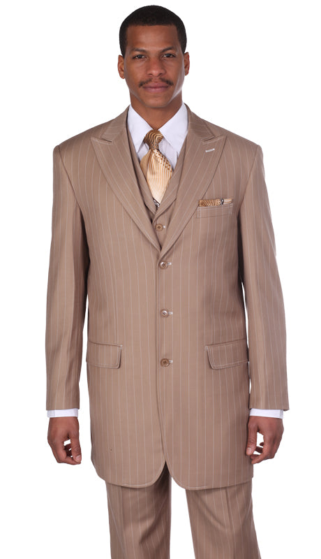 Milano Moda 5903V-Tan - Church Suits For Less