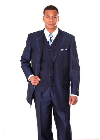 Milano Moda Suit 5907V-Navy - Church Suits For Less