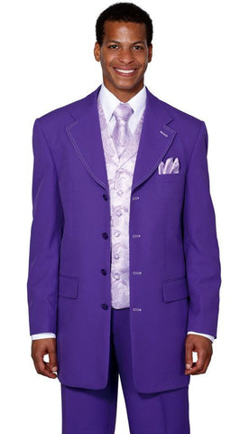 Milano Moda Suit 6903V-Purple - Church Suits For Less