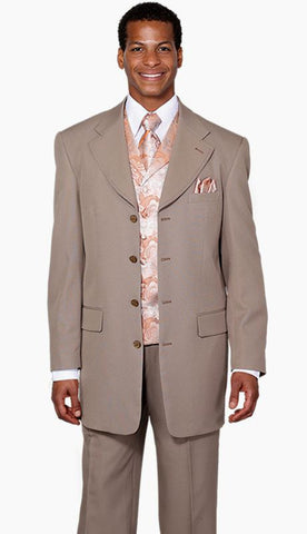 Milano Moda Suit 6903V-Tan - Church Suits For Less