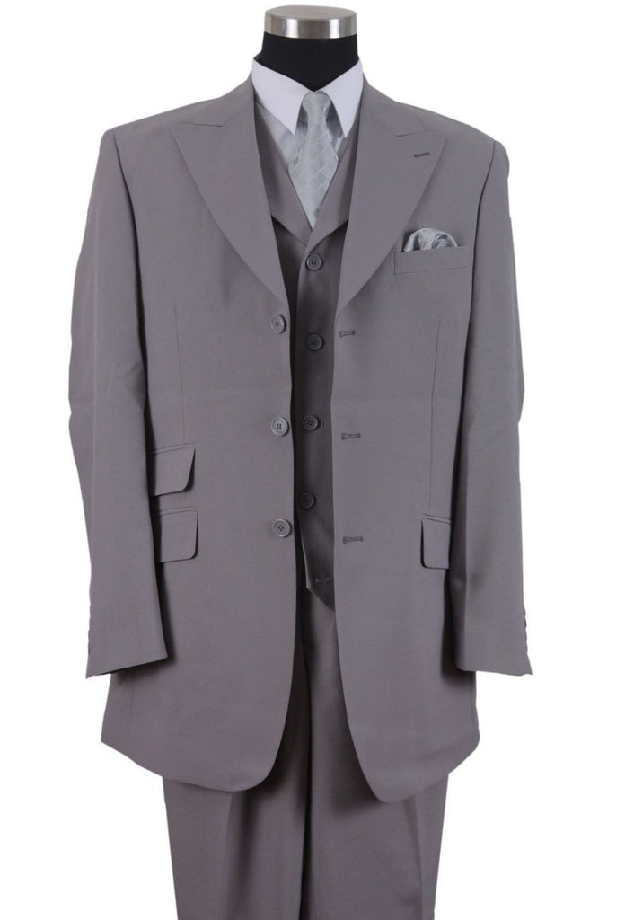 Milano Moda Suit 905V-Grey - Church Suits For Less